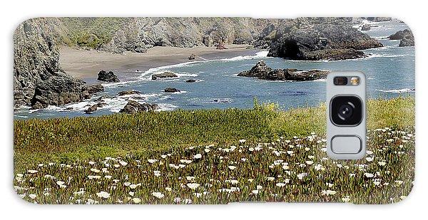 Northern California Coast Scene Galaxy Case