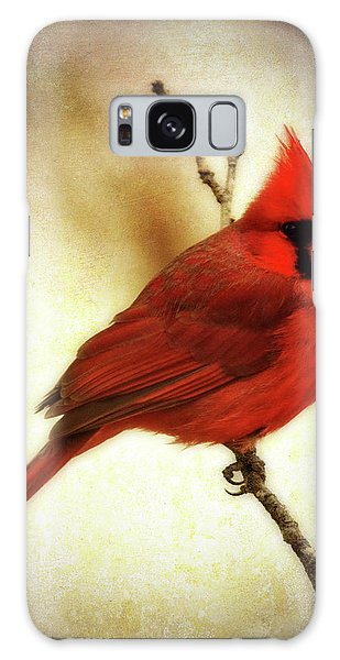 Northern Cardinal Galaxy Case by Lana Trussell