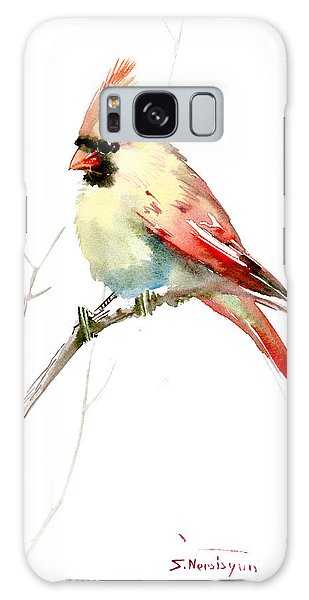 Northern Cardinal,female Galaxy Case
