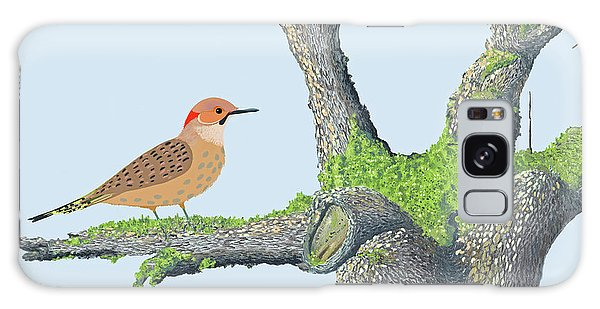 Northern Flicker Galaxy Case