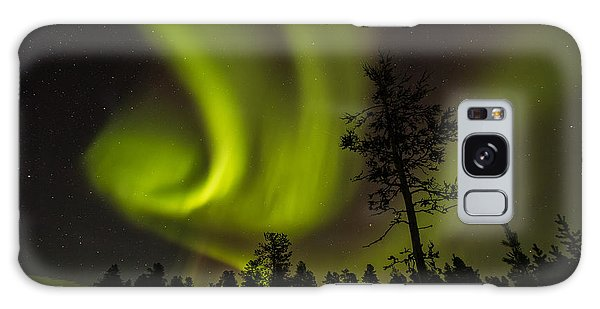 Northern Light In Finland Galaxy Case