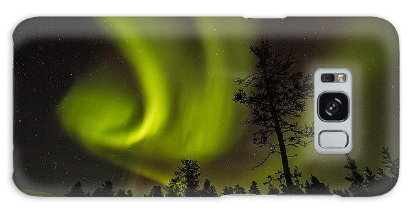 Northern Light In Finland Galaxy Case by Gabor Pozsgai