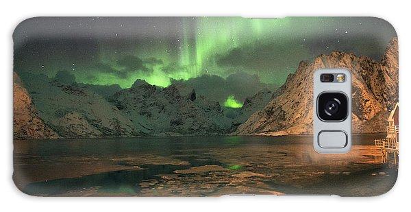 Northern Light In Lofoten, Nordland 1 Galaxy Case