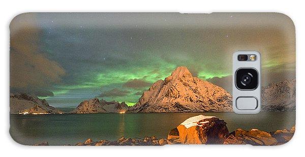 Spectacular Night In Lofoten 3 Galaxy Case