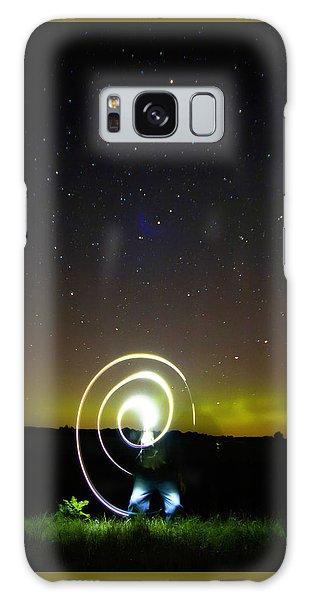 023 - Night Writing Galaxy Case