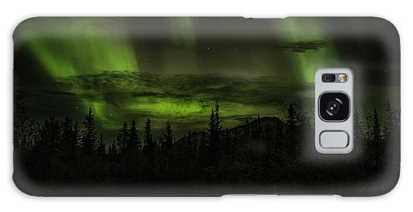 Galaxy Case featuring the photograph Northern Lights by Fred Denner