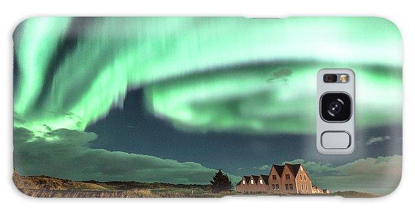 Northern Lights Galaxy Case by Frodi Brinks