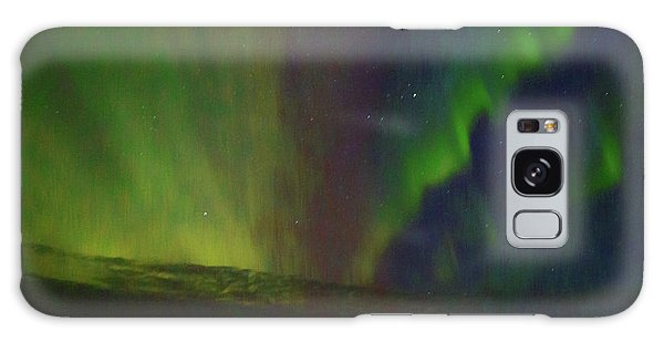 Northern Lights Or Auora Borealis Galaxy Case