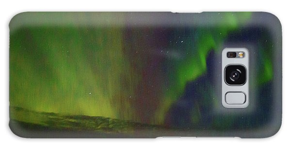 Northern Lights Or Auora Borealis Galaxy Case by Allan Levin