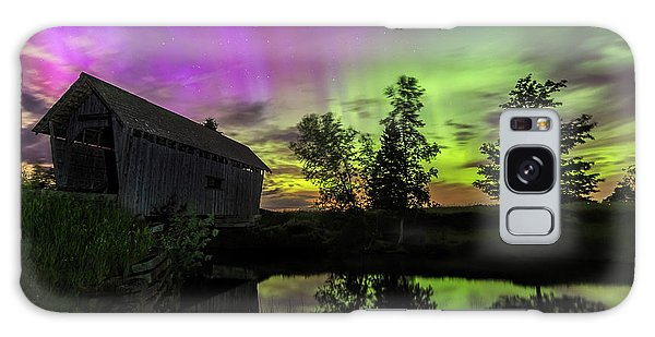 Northern Lights Reflection Galaxy Case