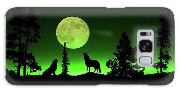 Northern Lights Galaxy Case by Shane Bechler