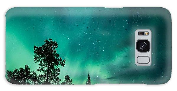 Northern Lights Tonight Galaxy Case