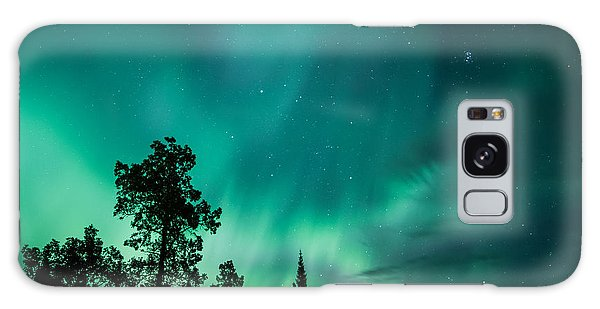 Northern Lights Tonight Galaxy Case