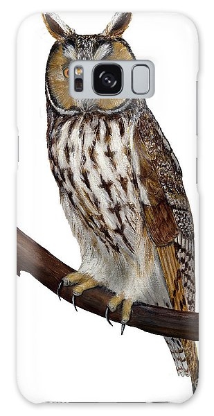 Northern Long-eared Owl Asio Otus - Hibou Moyen-duc - Buho Chico - Hornuggla - Nationalpark Eifel Galaxy Case