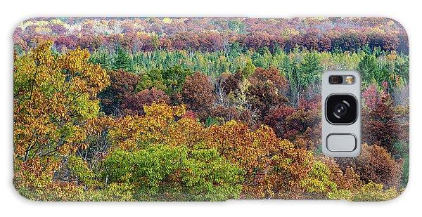 Northern Michigan Fall Galaxy Case