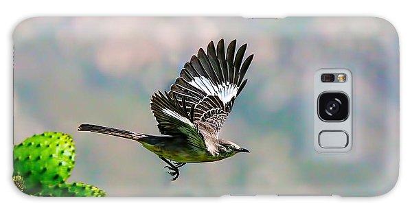 Northern Mockingbird Flying Galaxy Case by Dan Redmon
