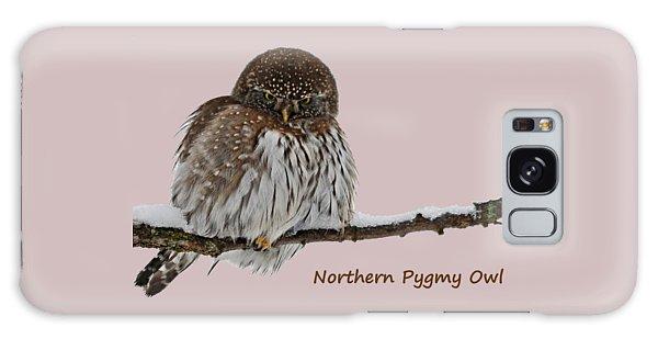 Northern Pygmy Owl 2 Galaxy Case