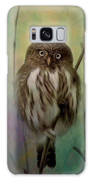 Northern Pygmy Owl  Galaxy Case