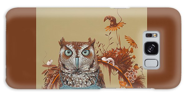 Autumn Galaxy Case - Northern Screech Owl by Jasper Oostland