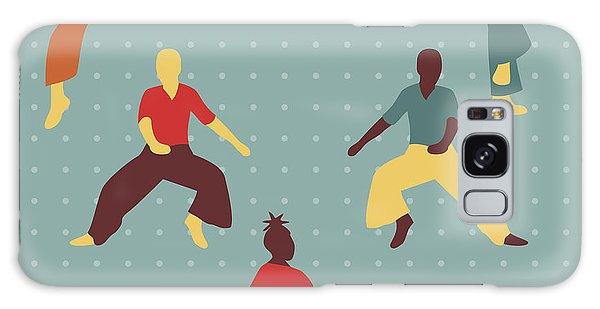 Sixties Galaxy Case - Northern Soul Dancers by Claire Huntley