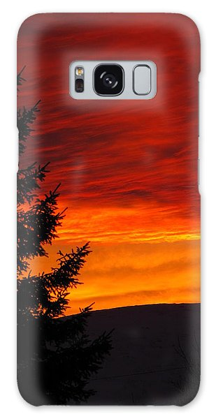 Northern Sunset 2 Galaxy Case