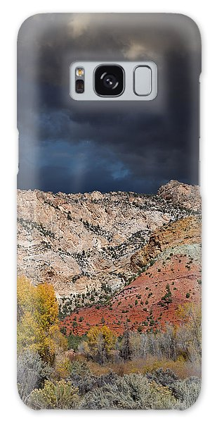 Northern Uintas Autumn Galaxy Case