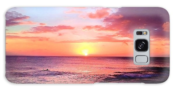 Northshore Sunset Galaxy Case