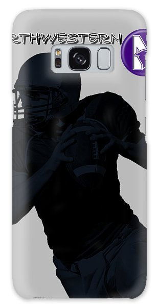 Northwestern Football Galaxy Case