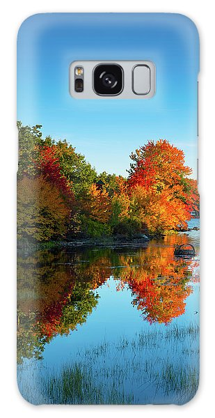 Northwood Lake Autumn Galaxy Case