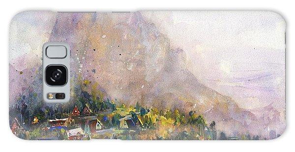 Mountain Lake Galaxy Case - Norway by Kristina Vardazaryan