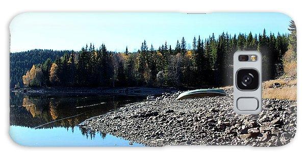 Norwegian Autumn Landscape  Galaxy Case
