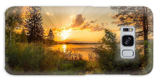 Norwegian Landscape Galaxy Case by Rose-Maries Pictures