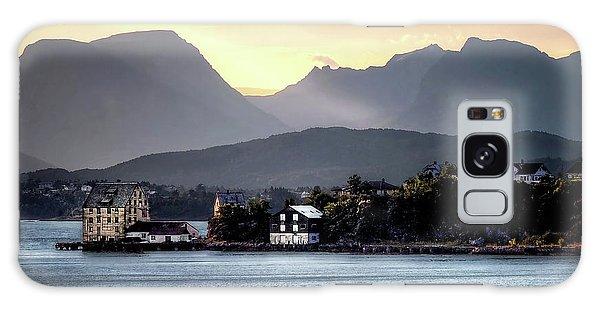Norwegian Sunrise Galaxy Case