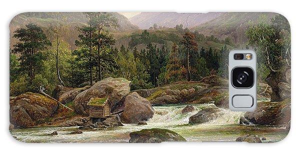 Norwegian Waterfall Galaxy Case