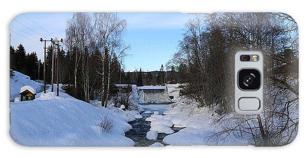 Norwegian Winter Landscape.  Galaxy Case