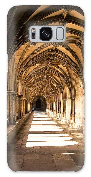 Norwich Cathedral Portico  Galaxy Case