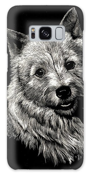 Norwich Terrier Galaxy Case