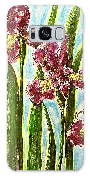 Nostalgic Irises Galaxy Case