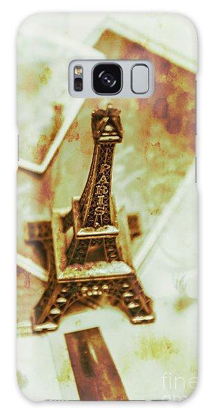 French Galaxy Case - Nostalgic Mementos Of A Paris Trip by Jorgo Photography - Wall Art Gallery