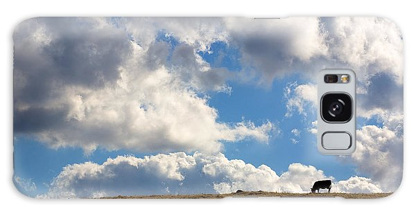 Cloud Galaxy Case - Not A Cow In The Sky by Peter Tellone