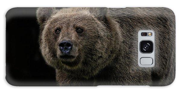 Grizzly Bears Galaxy Case - Not A Cuddly Toy Bear by Joachim G Pinkawa