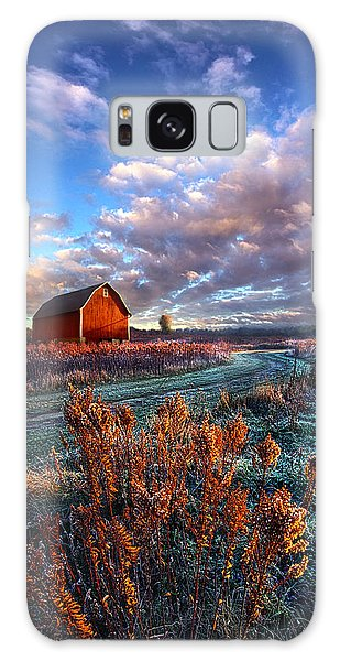 Galaxy Case featuring the photograph Not All Roads Are Paved by Phil Koch