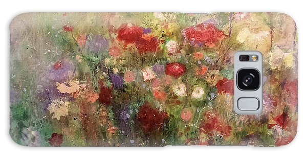 Nothing But Flowers Galaxy Case by Frances Marino