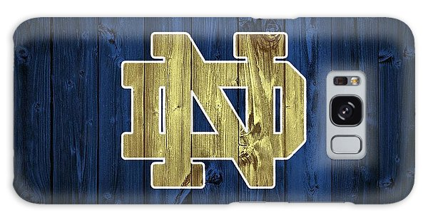 Notre Dame Barn Door Galaxy Case