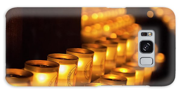 Notre Dame Candles Galaxy Case