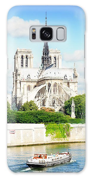 Notre Dame Cathedral, Paris France Galaxy Case