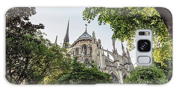 Notre Dame Cathedral - Paris, France Galaxy Case