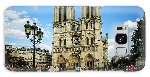 Notre Dame Cathedral Galaxy Case