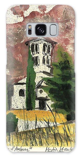 Notre Dame D'aubune Galaxy Case by Martin Stankewitz