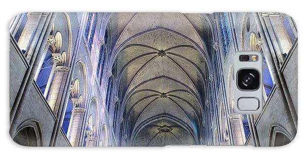 Notre Dame De Paris - A View From The Floor Galaxy Case